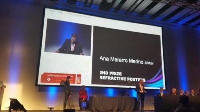 CIOA Fernández-Vigo 2º premio en el Congreso Europeo ESCRS